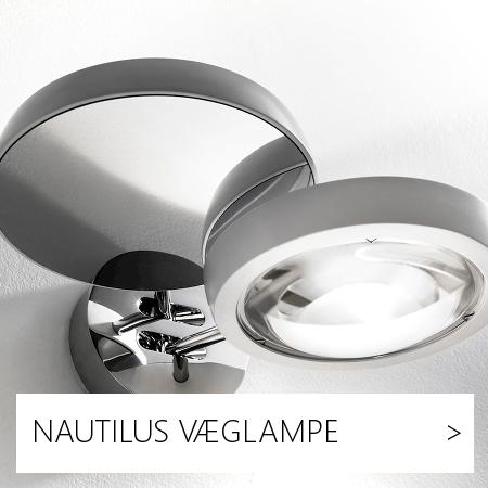 NAUTILUS, LAMPEFEBER, VÆGLAMPE, LYSTORVET, STUDIO ITALIA
