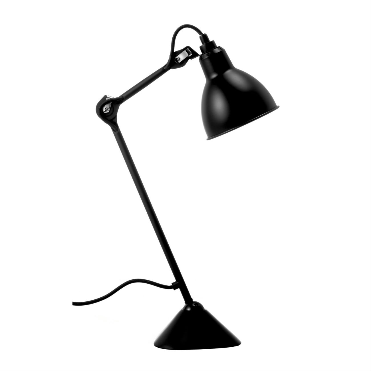 lampe gras no 205 bordlamper lystorvet. Black Bedroom Furniture Sets. Home Design Ideas
